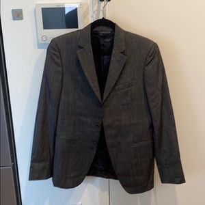 Dark gray John Varvatos suit jacket